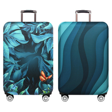 """Green Ripple Brand Travel Thicken Elastic Deep Rain Forest Color Luggage Protective Cover, Apply To 18-32"""" Suitcase Cases xt910"""