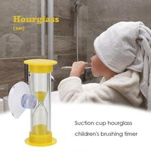 Creative Hourglasses Home-Decoration Teeth Brushing Children-Time-Toys Plastic with Suction-Cup