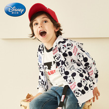 Disney Childrens Clothes Boys and Girls Jackets Hooded Kids Sweatshirt Baby Girl Hoodies Boy Outfit