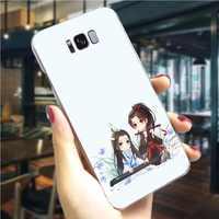 Mo Dao Zu Shi Telefon Abdeckung für Samsung M10 Fall Anmerkung 8 9 10 M20 M30 S6 S7 Rand S8 s9 S10 Plus S10se Fällen Haut
