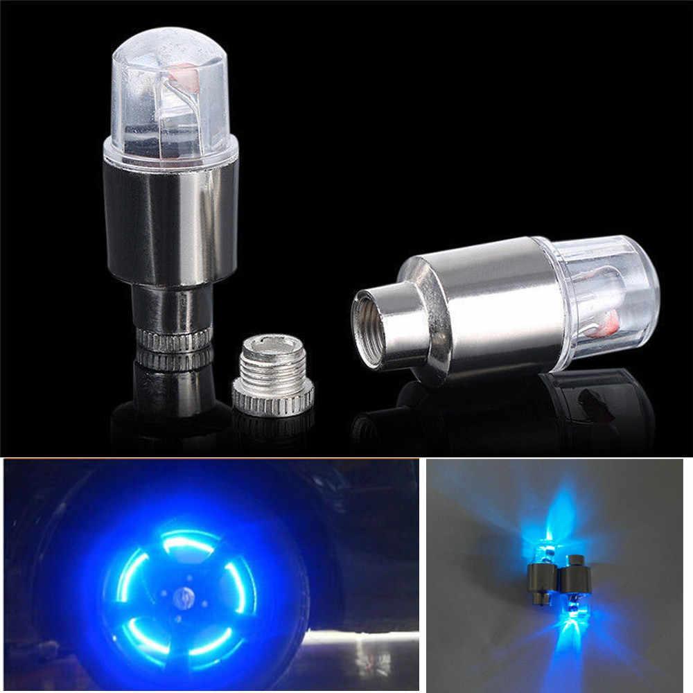 Çok aydınlatma modları bisiklet ışığı usb şarj led2pcs LED lastik supap gövdesi Caps Neon işık oto aksesuarları bisiklet bisiklet araba oto