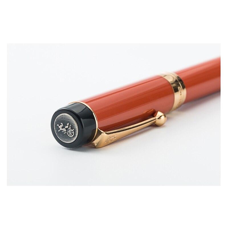Image 5 - جديد Jinhao سينتينيال الراتنج Mittlere فيدر كامل فيدرهالتر براونروت قلم حبر نافورة القلم أقلام اللوازم المكتبية المدرسية هديةالأفلام والتلفزيونالألعاب والهوايات -