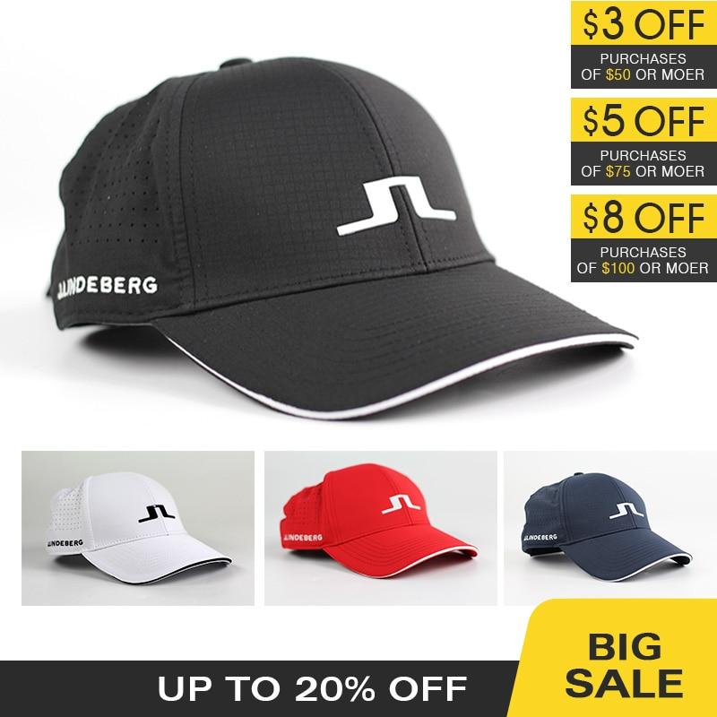 New Golf Hat 4 Colors Outdoor Sports Cap Unisex JL Hat Sunscreen Shade Sport Golf Cap