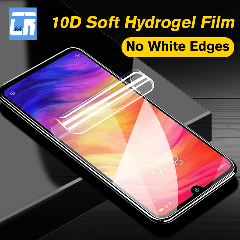 10D Full Soft <font><b>Hydrogel</b></font> Film For <font><b>Redmi</b></font> Note <font><b>8</b></font> 4X 5A 6A 7A GO Screen Protector Protective Film For Xiaomi CC9E 9X 9T A3 Not Glass image