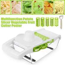 Multifunctional cutter Vegetable Fruit Slicer Grater Cutter Peeler Potato Peeler Carrot Grater Drain Basket Kitchen Tool