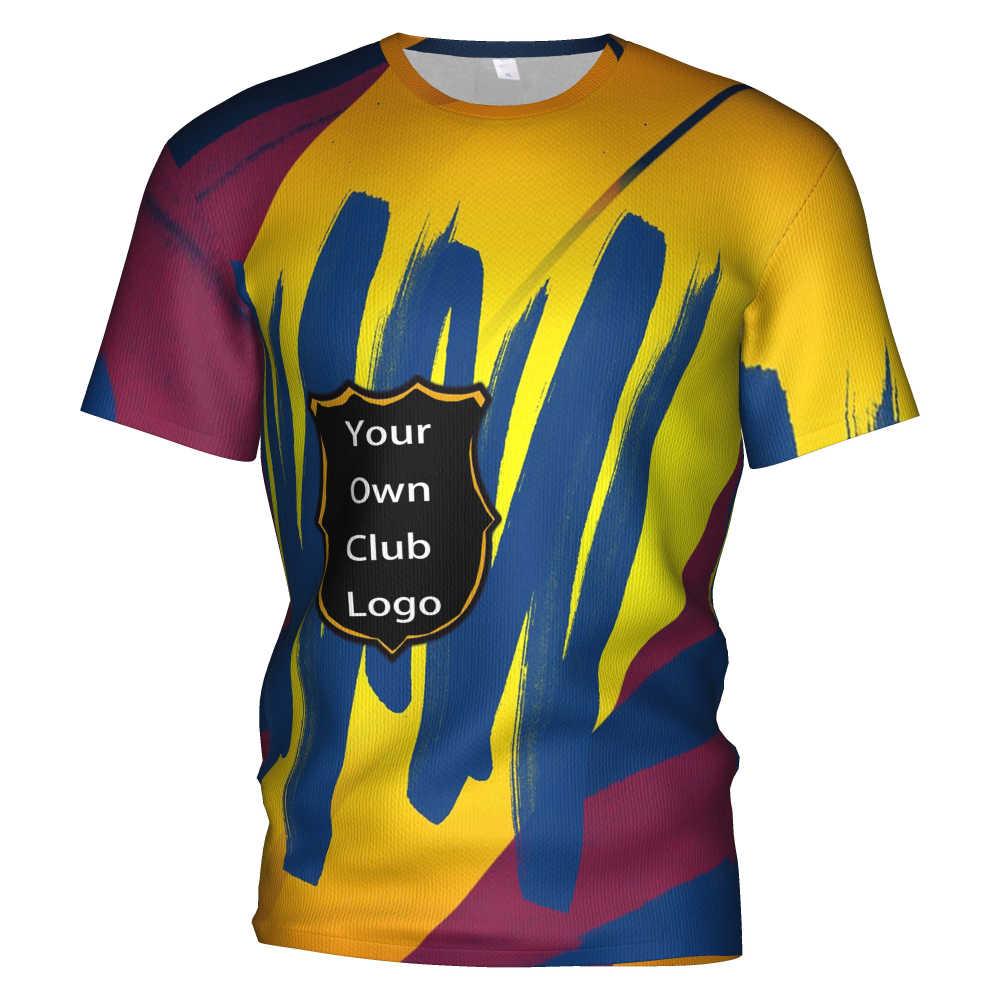 2020 New Barcelona Fc Soccer Jersey 3d T Shirt Barcelona Tracksuit men/kids kit Barcelona football club Messi Training Tshirts