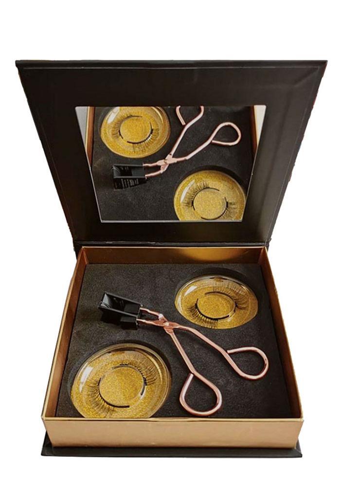 modelador de cilios magneticos feitos a mao com quantum macio magnetico cilios posticos conjunto facil de