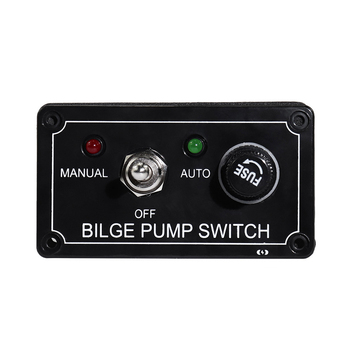 цена на Yacht RV rocker switch panel with protection one toggle button panel switch twist switch