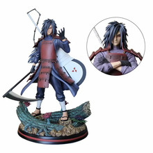 Naruto Uchiha Madara Statue Action Figure 300mm Anime Naruto Figure Madara Collectible PVC Model Toys hot selling 1pcs 26cm pvc japanese anime figure naruto action figure collectible model toys brinquedos