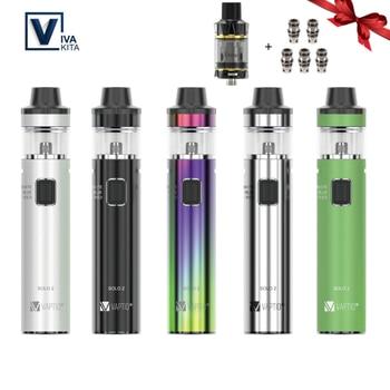 цена на 【Gift 510 Tank】Original Vivakita Vaptio Vape Pen SOLO 2 KIT Vaporizer 3000mah 50W Max 4ML Electronic Cigarette Starter Kit 2ohm