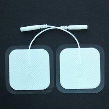 Xc0104 5050 квадратный нетканый 2,0 мм Jack электродный патч здоровье Ангел терапевтического аппарата цифровой