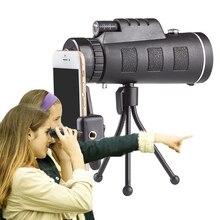 Zoom monocular lente do telefone smartphone telescópio lente da câmera lentes do telefone móvel para o iphone 11 8 7 plus lente macro telefone