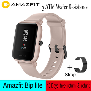 Amazfit Bip Lite Smart Watch 3ATM Water-resistance 45-Day Battery Life Sport watch For Xiaomi Android IOS Global Version