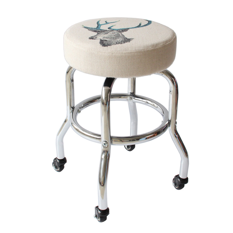High-end Rotating Beauty Stool Bar Stool Round Tattoo Tattoo Stool Beauty Chair Technician Pulley Stool
