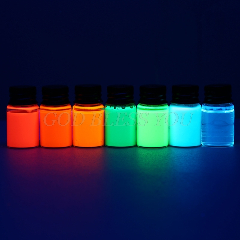 5/15ml Fluorescence Bottled Dip Fountain Pen Ink Writing Signature Pen Refilling Inks Stationery Drop Shipping