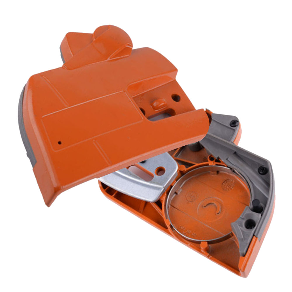 Chain Clutch Brake Sprocket Cover For Husqvarna 340 345 350 353 357 359 Replacement Chainsaw Part Engine Accessories Garden Tool
