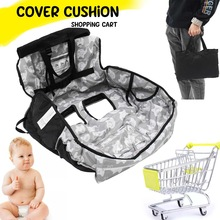 Seat-Mat Trolley-Pad Protection-Cover Shopping-Cart-Cushion Push-Cart Foldable Baby Kids