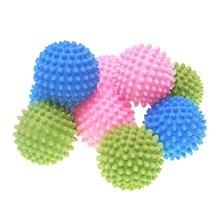 3 шт 5 шт 10 шт смешанные цвета волшебный многоразовый шар для стирки одежды Dyer Ball бытовые чистящие средства