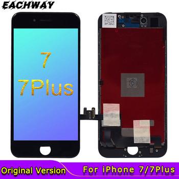 Czarny 4 7 #8222 wyświetlacz LCD dla iphone 7 ekran dotykowy Digitizer montaż z 3D części zamienne 5 5 #8221 dla Apple iphone 7 Plus LCD tanie i dobre opinie eachway NONE CN (pochodzenie) Ekran pojemnościowy 1920x1080 3 For Apple iPhone 7 7Plus LCD i ekran dotykowy Digitizer