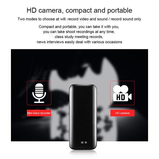 MINI camera 1080P HD DV Professional Digital Voice Video recorder small micro sound brand XIXI SPY Dictaphone secret home 5