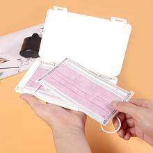 Mask Band-Aid Box Case Moisture-Proof-Storage-Box Bill Dustproof H9X7 Portable