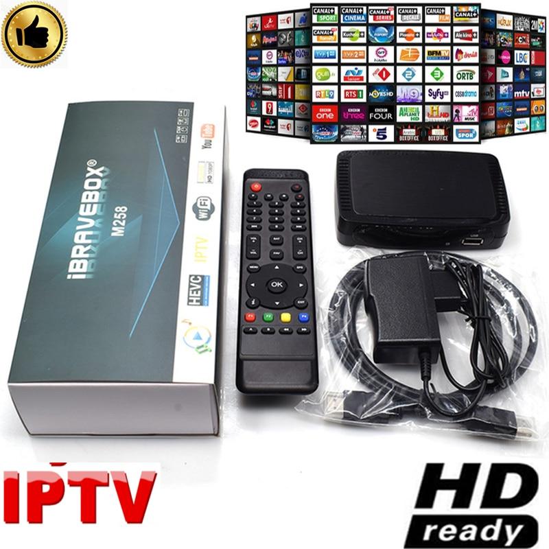 Tdt Tv Receptor Tv Box M258 IPTV BOX 2GB DDR3 Sat Decoder With Usb Wifi Adapter IPTV OTT Box Set Top Box