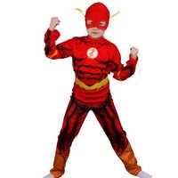 Disfraz de cosplay de flash para niños, Transformers, película, máscara de fiesta de Navidad, capa, Optimus Prime