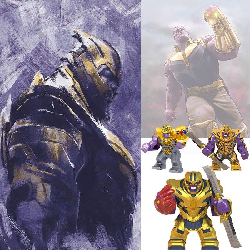 Новые игрушки Marvel большой размер фигурка Мстители Железный человек Халк бесконечные перчатки тиран Человек паук Черная пантера яд строительные блоки для детей|Блочные конструкторы|   | АлиЭкспресс
