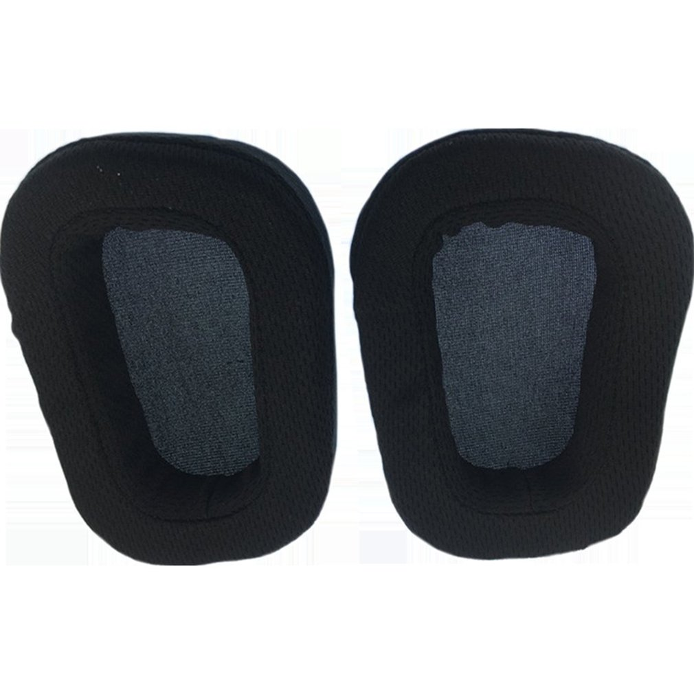 1 Pair Replacement Headphone Earpads + Headband Pad for Logitech G633 G933 Protective Ear Pads image