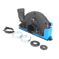 Universal Cutting Dust Shroud Grooving Protective Cover For 4 / 5 Angle Grinder With Release Buckle Power Tool Accessories
