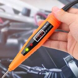 Auto diagnóstico display digital carro de teste de circuito elétrico caneta teste de tensão caneta power probe lápis ferramentas diagnóstico do carro detector