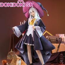 Dokidoki-sr anime manga errante bruxa: a viagem de elaina cosplay elaina traje feminino cosplay