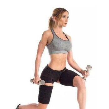 1 Pair Sweat Absorb Running Slender Fitness Basketball Playing Sauna Leg Shaper Sports Compress Belt