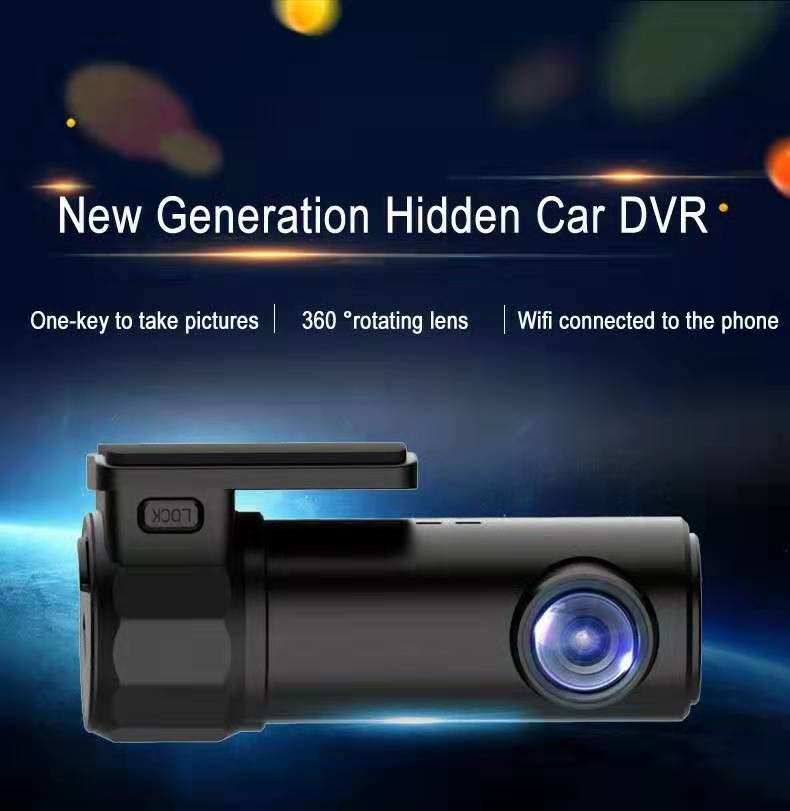 Camera Dashcam Video-Recorder Driving G-Sensor Night-Vision Hidden 1080p Car Dvr Hd