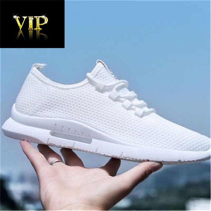 2020 Fashion Fashion Sneakers Lightweight Men Casual Shoes Breathable Male Footwear Lace Up Walking Shoes