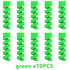 10pcs green