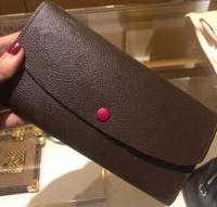 2019 new fashion real leather coin purse zippy wallet free shipping