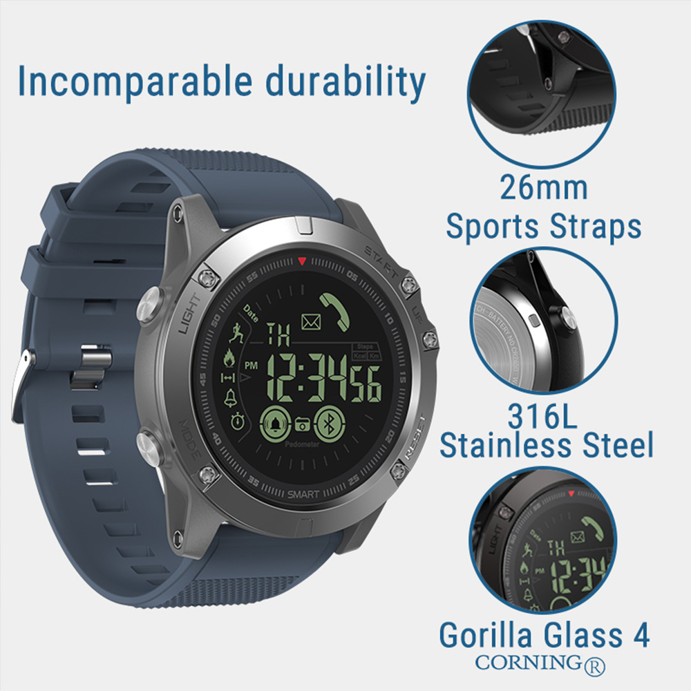 Zeblaze VIBE 3 GPS Smart Watch Heart Rate Multi Sports Mode Waterproof Multifunctional GPS Smartwatch For Android/IOS for Men
