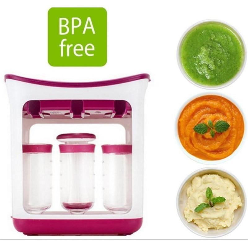 fabricante de alimentos para bebe recipientes de alimentacao do bebe suprimentos de armazenamento do miudo recem