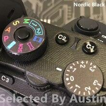 Peau de décalcomanie dappareil photo pour Sony A9 housse de protection anti rayures autocollant