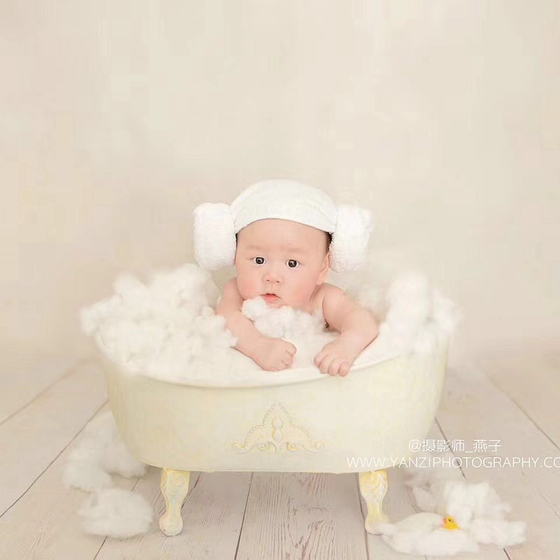 New Baby Bathtub Infant Photo Photography Accessories Newborn Photography Props