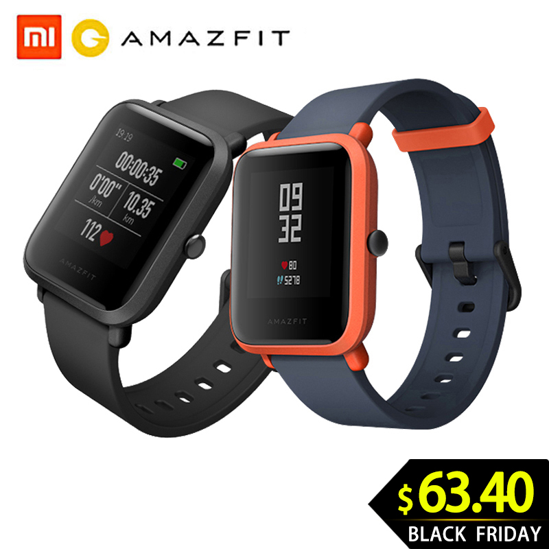 Huami <font><b>Amazfit</b></font> Bip Smart Watch Youth Version Pace <font><b>Lite</b></font> Bluetooth 4.0 GPS Heart Rate 45 Days Battery IP68 image