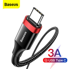 Baseus USB Type C Cable Quick Charge 4.0 QC 3.0 Fast Charging For Xiaomi Samsung Huawei USBC Data Wire Cord Phone Charger Cables