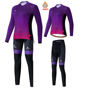 2020Pro Team High Quality Cycling Jersey Top MTB Winter Warm Polar Fleece Long Sleeve Racing Cycling Suit Outdoor Sports Suit NW