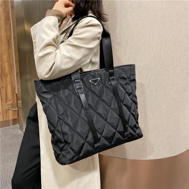 Large Nylon Pillow Bag  2