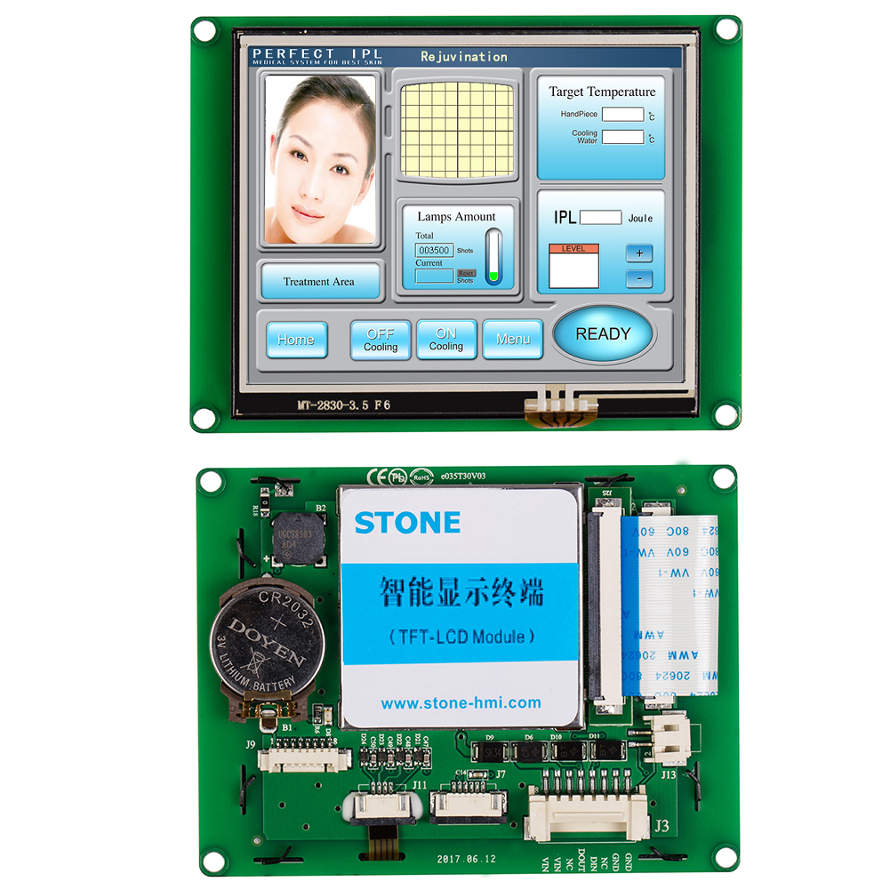 Touch Screen Buy 3.5 Inch LCD Module With RS232 And RS485 Interface