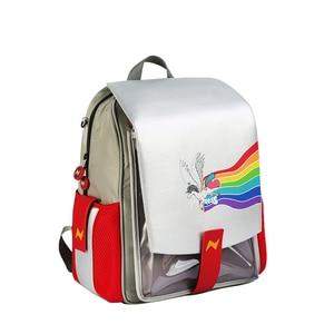 Image 2 - NOHOO dziecięce torby do szkoły podstawowej 3D Cartoon jednorożec plecak szkolny chłopcy wodoodporny plecak dinozaura dla dziewczynek