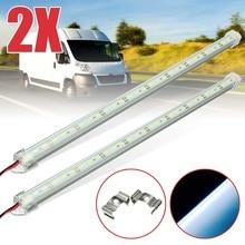 1/2/4 12V 40Cm 30 LED 5630 LED Nội Thất Dải Thanh Đèn Van Xe đoàn Xe Thuyền Xe Tải Kéo Đèn Cắm Trại Ngoài Trời Nhà