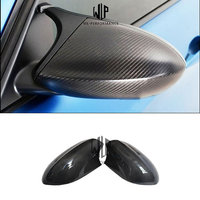 High quality Real Carbon Fiber Stick Style Rear View Mirror Cover Side Mirror Caps For BMW E90 E92 E93 M3 E82 1M 2008 2013