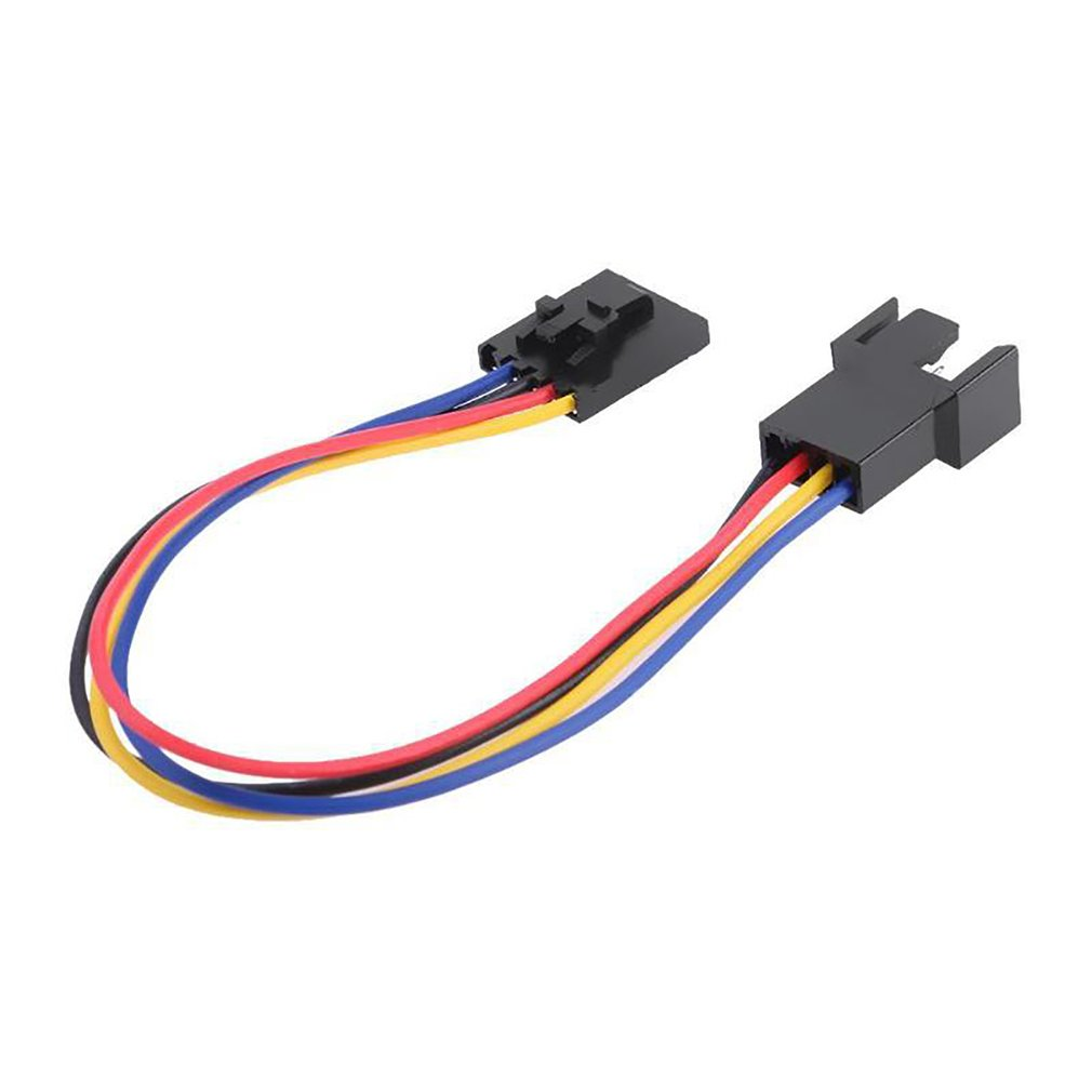 5Pin to <font><b>4Pin</b></font> <font><b>Fan</b></font> Connector Adapter For Dell Converter Extension <font><b>Cable</b></font> Wire For Dell styles 5 pin Latch styles PC Laptop image